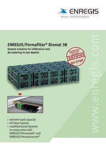 ENREGIS/Permafilter® Biomat 38