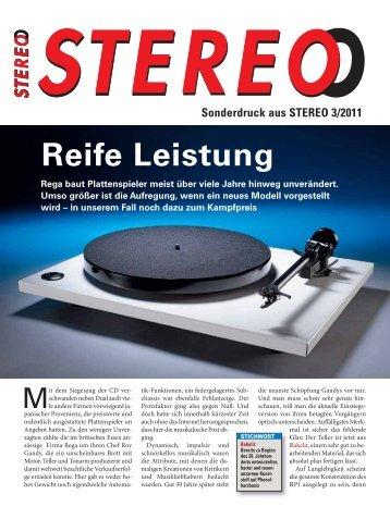 STEREO (3/2011) - puredynamics.com