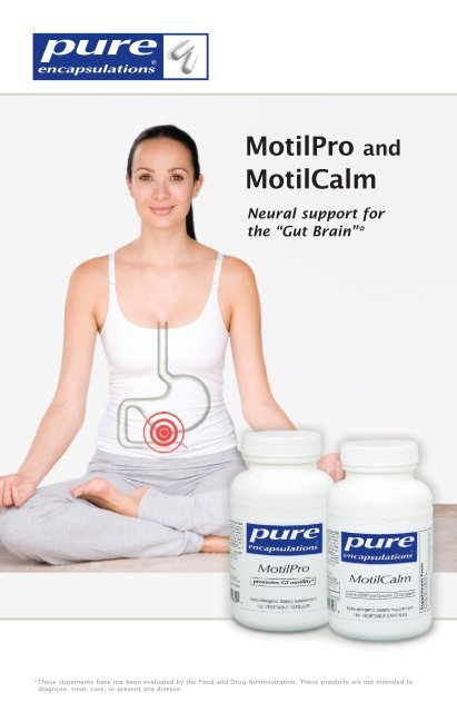 MotilPro and MotilCalm - Pure Encapsulations
