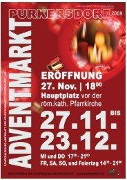 Amtsblatt 409 (Advent) (1,69 MB) - Purkersdorf