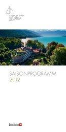 SAISONPROGRAMM 2012 - purpur edition