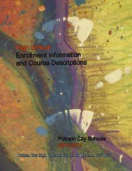 High School Course Guide 2010-2011 - Putnam City Schools