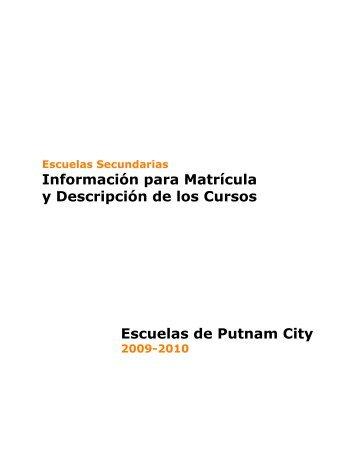 High School Course #3E7942A - Putnam City Schools