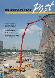 77 Kunden-Magazin der Putzmeister Concrete Pumps GmbH ...