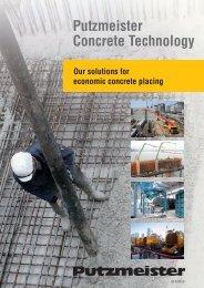 Putzmeister Concrete Technology - Putzmeister Holding GmbH