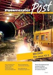Mit DVD: Die neue 42-5 - Putzmeister Holding GmbH