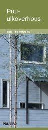 Puu-ulkoverhous asennuohje - Puuinfo
