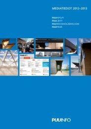 Mediatiedot 2012-13 -esite (pdf) - Puuinfo