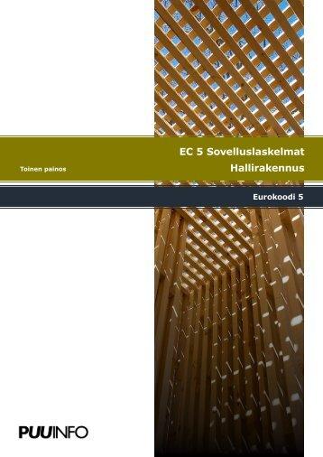 EC5 Sovelluslaskelmat hallirakennus, toinen painos.pdf - Puuinfo