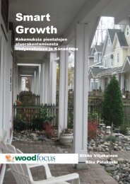 Smart Growth, Kokemuksia pientalojen ... - Puuinfo