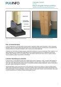 Pilarin alapään liimaruuviliitos (pdf) - Puuinfo - Page 3