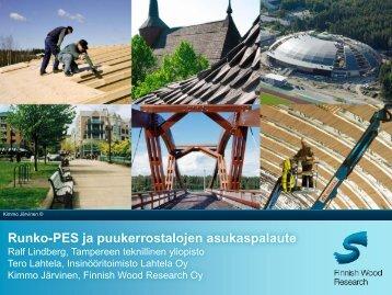 Runko-PES – tilannekatsaus ja puukerrostalojen ... - Puuinfo