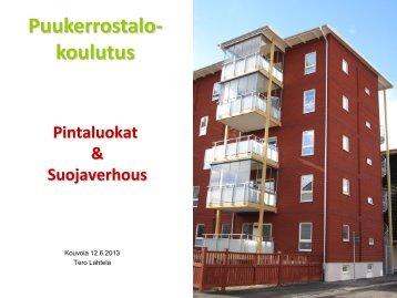 Pintaluokat & Suojaverhous - Puuinfo