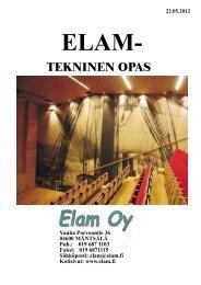 Elam Tekninen opas (pdf) - Puuinfo
