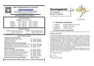 16.06.2013 - Katholische Kirchengemeinde St. Laurentius in ...