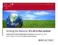 Striking the Balance: it's all in the control - PV Insider