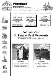 Gemeinsame PN 12-2012.pdf - Pastoralverbund Medebach