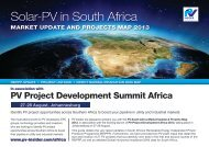 Solar-PV in South Africa - PV Insider