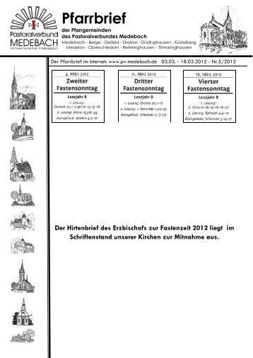 Gemeinsame PN 05-2012.pdf - Pastoralverbund Medebach