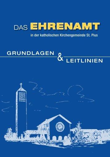 EHRENAMT - Pastoralverbund Reckenberg