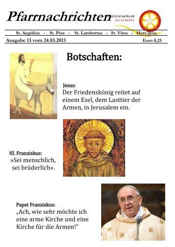 13-2013 - Pastoralverbund Reckenberg