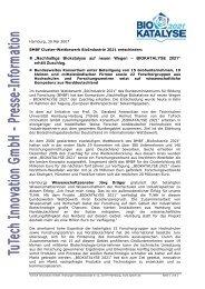 """Nachhaltige Biokatalyse auf neuen Wegen ... - PVA SH GmbH"