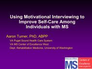 Using Motivational Interviewing To Improve Self-Care Among