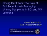Drying Our Fears: The Role of Botulinum toxin in Managing Urinary ...
