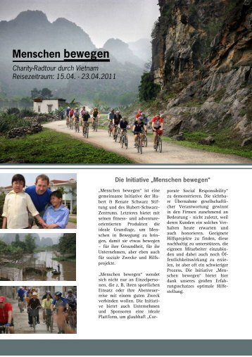 Charity-Radtour durch Vietnam.pdf - PVA TePla Sports