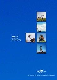 Vinyl 2010 Executive Summary 2007 - PVC-Partner