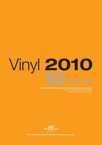 Vinyl 2010 - Wir tragen Verantwortung