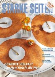 Aktuelle Ausgabe STARKE SEITEN - Arbeitsgemeinschaft der ...