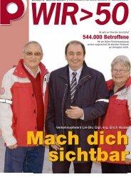 544.000 Betroffene - Pensionistenverband Oberösterreich