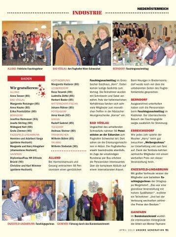 industrie - Pensionistenverband Niederösterreich