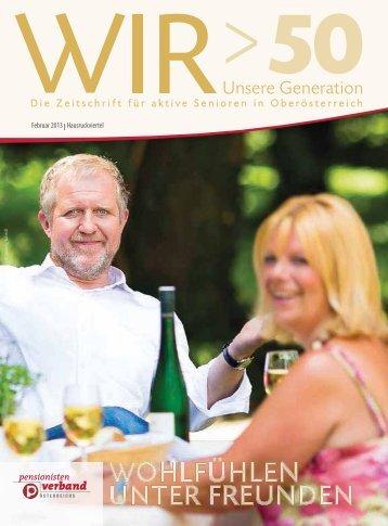 Februar 2013 lHausruckviertel - Pensionistenverband Oberösterreich