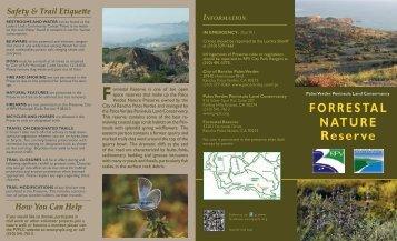 Forrestal Reserve - Palos Verdes Peninsula Land Conservancy