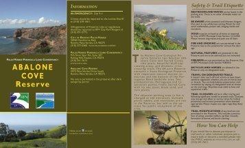 Abalone Cove Reserve - Palos Verdes Peninsula Land Conservancy