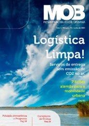 MOB - Revista Mobilidade Urbana  <h3> Edição 00 </h3>