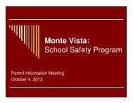 Parent School Safety Meeting
