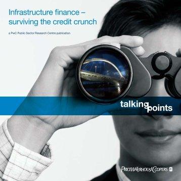 Infrastructure finance - PricewaterhouseCoopers