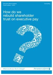 How do we rebuild shareholder trust on executive pay