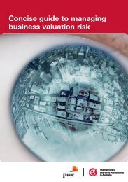 Concise guide to managing business valuation risk - Institute of ...