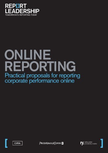 Online reporting - PricewaterhouseCoopers