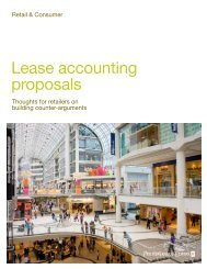 Lease Accounting Proposals - PwC