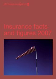 Insurance facts and figures 2007 - PwC