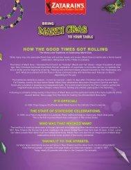 Mardi Gras History - PWR New Media