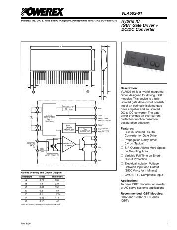 how to drive igbt gate