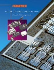 Custom Modules Brochure - Powerex