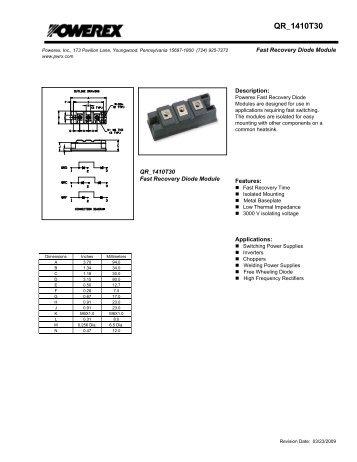QR_1410T30 - Powerex