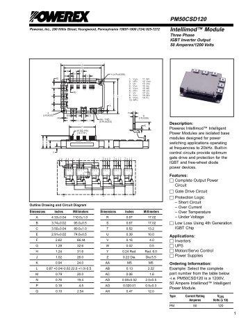 PM50CSD120 - Powerex